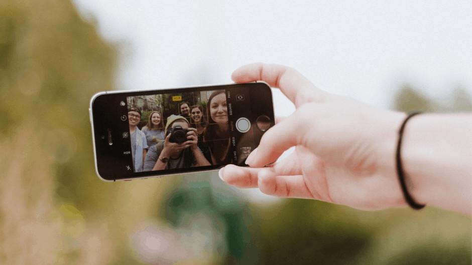 Handy und Social Media Lehrlinge