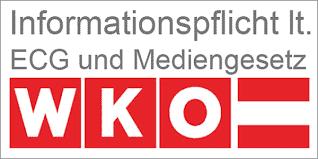 WKO Informationspflicht lt. ECG und Mediengesetz